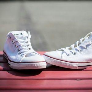 NWT Converse Chuck Taylor All Star White Lean Low NWT